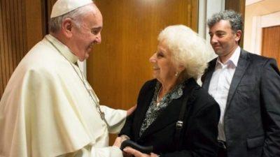 """Carlotto tras su visita al vaticano """"Francisco está muy preocupado por Argentina y México"""""""
