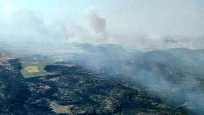 Un feroz incendio en Sierra de la Ventana ya arrasó más de 4 mil hectáreas