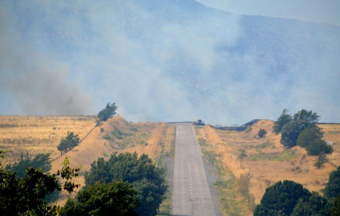 """El incendio en Sierra de la Ventana está """"descontrolado"""" y avanza hacia el Parque Provincial Ernesto Tornquist"""