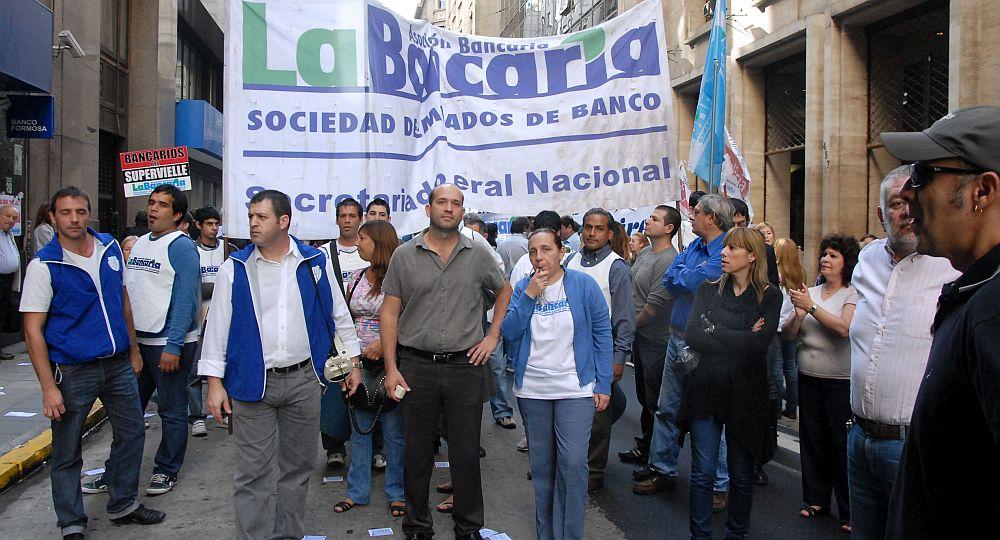 Comenzó el paro de 48 de los trabajadores del Banco Provincia, mañana se suman otras entidades bancarias