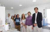 El titular del OPDS Aybar visitó las instalaciones del renovado laboratorio de la autoridad ambiental bonaerense