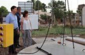 Villarino / Bevilacqua supervisó las obras en Hilario Ascasubi y se realizó con éxito el Lago Fest