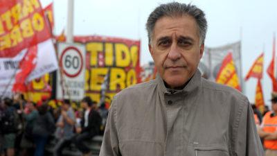 """Néstor Pitrola se manifestó sobre la marcha de Moyano y afirmó que """"la CGT no está a la altura de las circunstancias"""""""