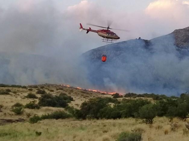 El incendio de Sierra de la Ventana comenzó a ser controlado