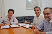 S. A de Areco / Durañona firmó acta acuerdo para obras de infraestructura escolar en su distrito