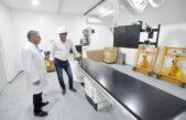"""Garro se hizo presente en las obras del Hospital San Juan de Dios: """"La salud es prioridad"""""""