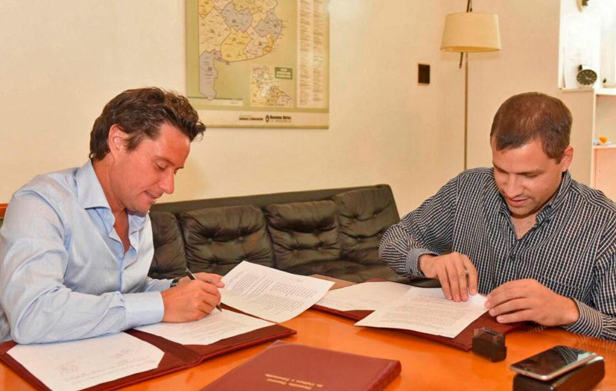 De Jesus se reunió con Zinny por nuevas obras escolares para el Partido de La Costa