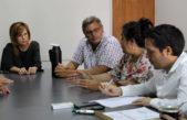 Legisladores de UC recibieron a trabajadores de ferrobaires echados por el gobierno provincial poniendo en crisis a 104 localidades