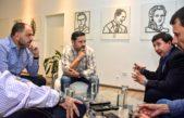 Menéndez busca que todos los espacios se sumen a la reconstrucción del peronismo y dialogó con los massistas Arroyo y Garate
