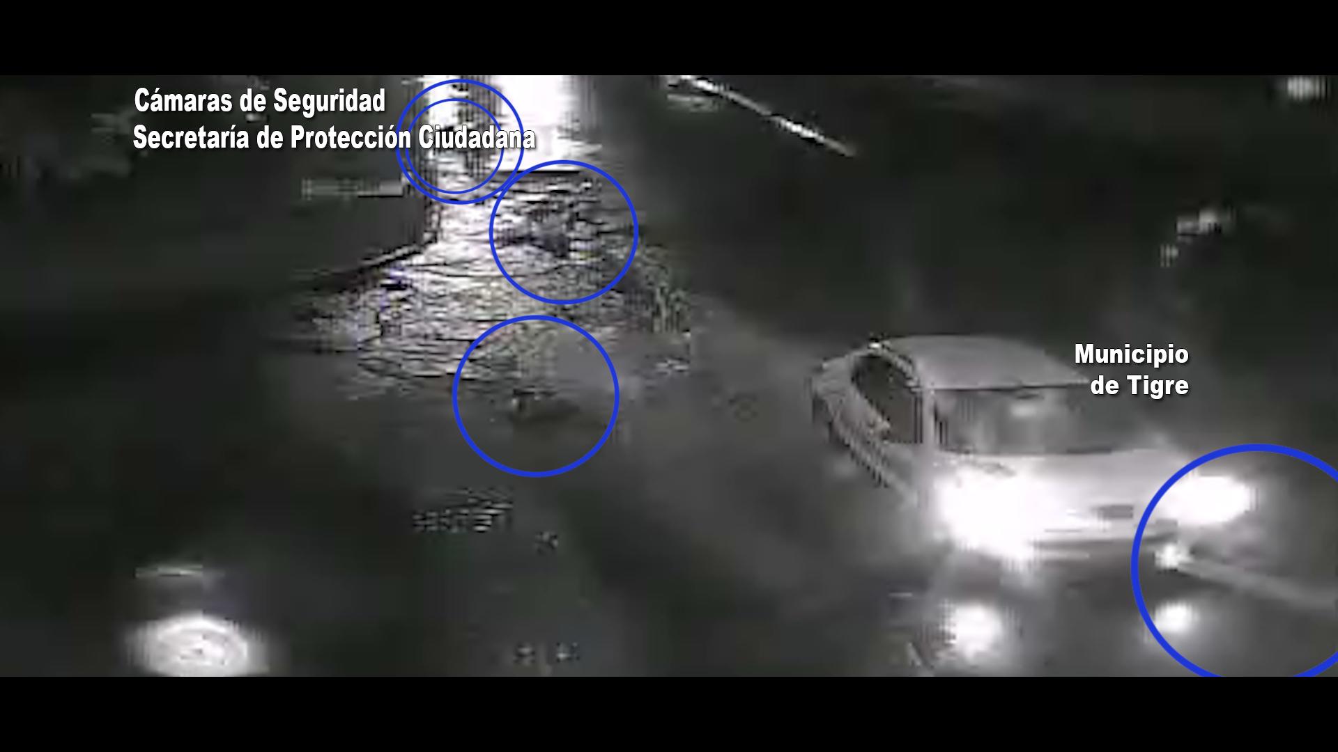 ¡Mirá el video! Atropelló a cinco personas, huyó y fue detenido en Tigre