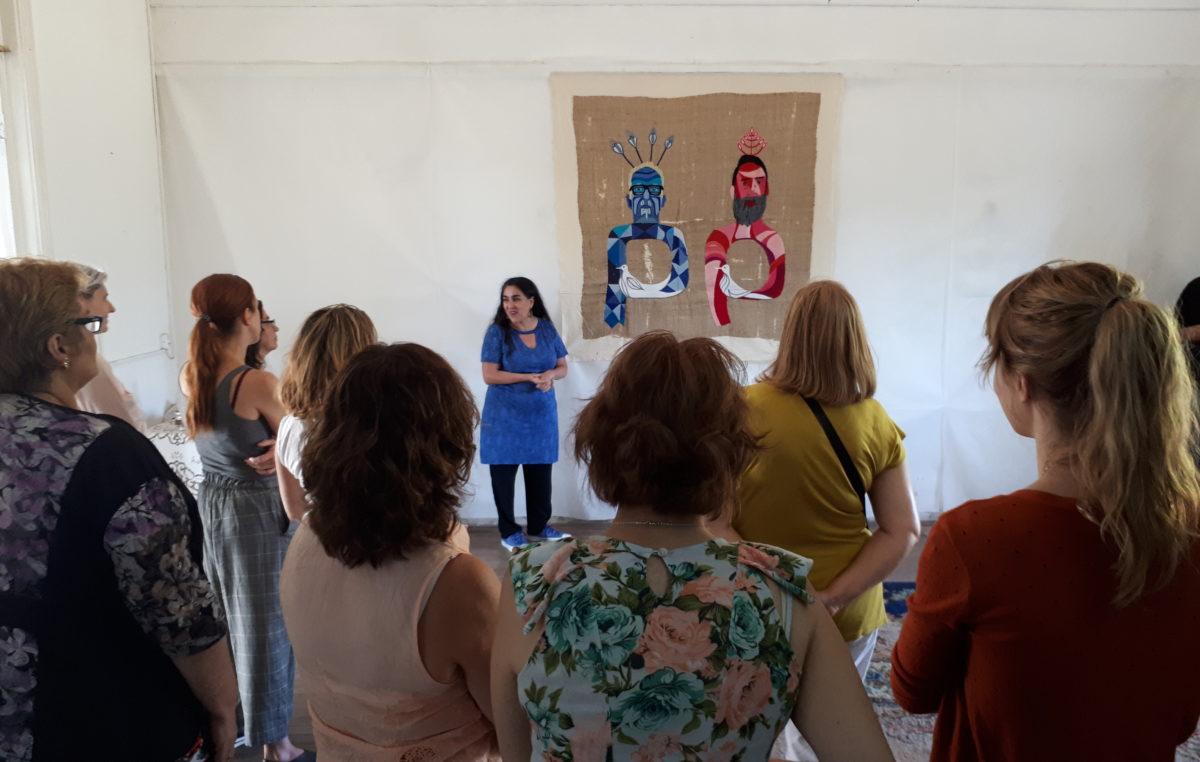25 de Mayo / Se llevó a cabo un sentido homenaje a Violeta Parra en el Centro Cultural Islas
