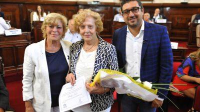 El Concejo Deliberante de La Plata homenajeó a 20 mujeres destacadas