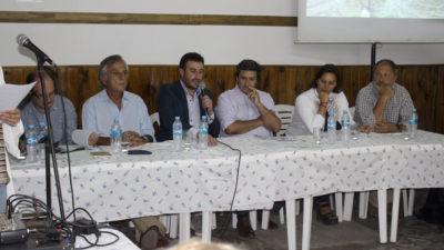 25 de Mayo / Se realizó una audiencia pública por las obras en el Río Salado