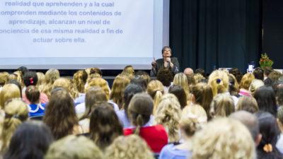 Se realizó en General Pinto una conferencia participativa sobre planificación en educación