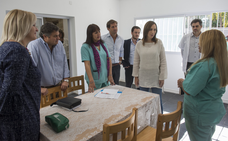 """Vidal sin el intendente Gray visitó un centro de adicciones en un terreno que perteneció al narcotraficante """"Rey Arturo"""" en Esteban Echeverría"""