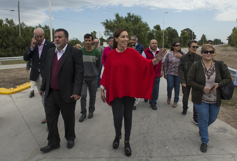 Con el eje en obra pública y medio ambiente, la gobernadora Vidal recorrió Coronel Suárez, Coronel Pringles y Benito Juárez