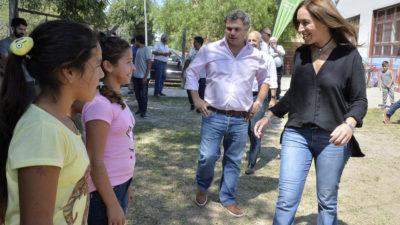 """Vidal inauguró en Pilar la """"Casa de Encuentro"""" que administra un comedor comunitario"""