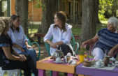 En el día de la mujer, Vidal visitó a mujeres emprendedoras en Suipacha