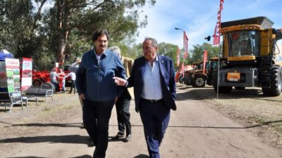 "Tandil / Sarquís participó de Expotan 2018: ""Nos comprometemos a que el sector crezca en la Provincia"""