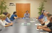 El intendente Katopodis recibió a Baradel y a gremios docentes de San Martín