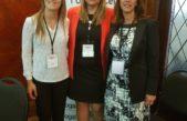 La intendente Erica Revilla junto a la senadora provincial, Ana Laura Geloso participaron del Woman 2018