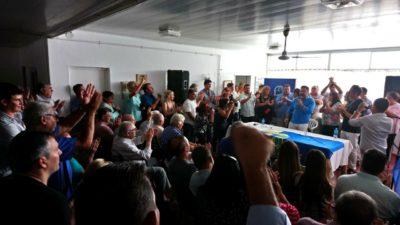 Menéndez respaldó a Walter Torchio al frente del PJ de Carlos Casares, hombre clave en la relación con el campo