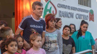 """Zabaleta inauguró la remodelación del Centro de Salud Comunitario """"Ramón Carrillo"""" de Villa Tesei"""