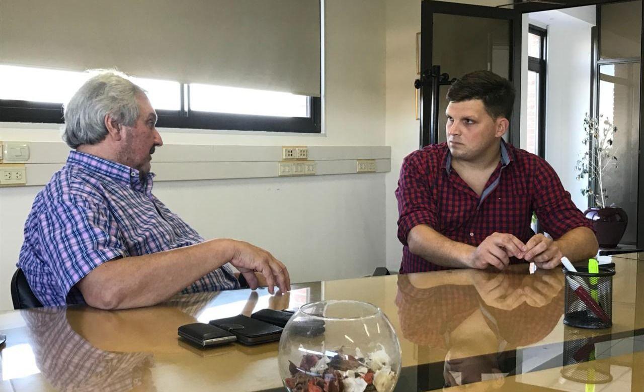Mar del Plata / Cheppi y Dell' Ollio buscan impulsar una tarifa diferencial de electricidad para Osse