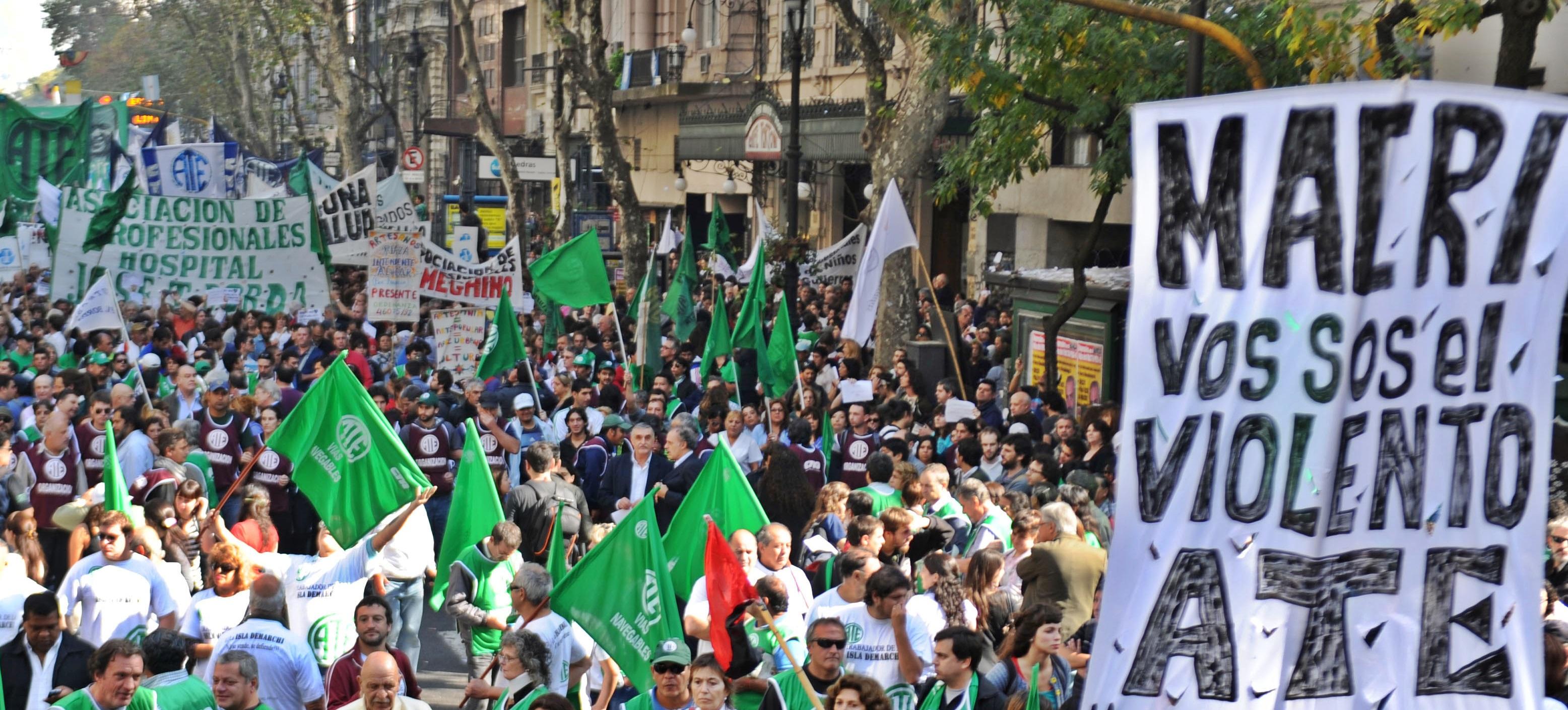 Los estatales bonaerenses confirmaron paro y movilización para el 5 de Abril