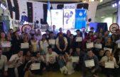 Víctor Hugo participa de una radio abierta por la reapertura de Periodismo Deportivo en la Ex Esma