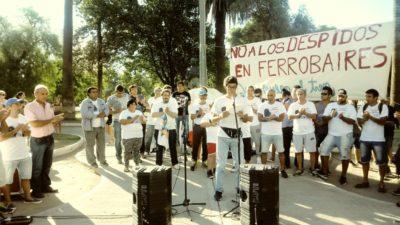 #QueVuelvaElTren / Marcharán a Gobernación contra el cierre de ramales y los despidos en Ferrobaires