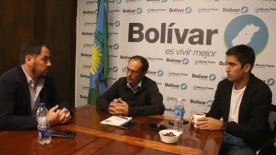 """El intendente de Bolívar dio comienzo a una importante obra de gas en Pirovano: """"Coronamos un trabajo de años"""""""