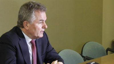 El intendente Héctor Gay analizó la situación portuaria, industrial y minera de Bahía Blanca