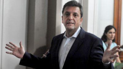 Massa eligió la cumbre de Menéndez para enviar una carta y criticó la de San Luis