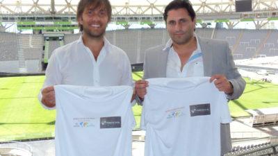 La Red Voz Por la Paz, Miracle África y el Génova International School Soccer firman acuerdo para trabajar juntos por una cultura de paz en el deporte