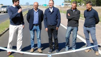 Cordonnier y Perechodnik inauguraron la repavimentación de la ruta provincial 29 entre Ayacucho y Balcarce