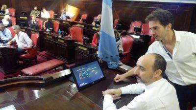 Mejoras tecnológicas en el Recinto de la Cámara de Senadores de la provincia de Buenos Aires
