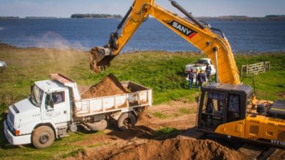 Trenque Lauquen / El intendente se refirió a la reparación de caminos y los efectos de la sequía actual