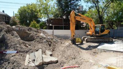 Tigre / Comenzó la construcción de un paso bajo nivel en las vías del ferrocarril Mitre