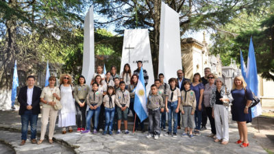 Se realizó en La Plata un homenaje al histórico poeta Almafuerte