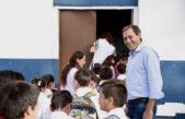 """Garro estuvo en la inauguración del ciclo lectivo: """"Trabajamos para que la educación pública sea cada día mejor"""""""