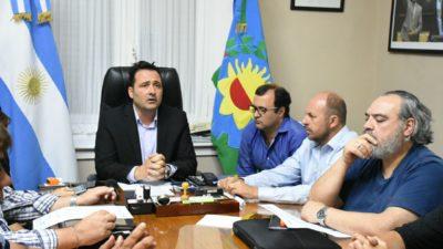 Chacabuco / Con la presencia del Diputado Daletto, Aiola pudo cerrar con los empleados municipales