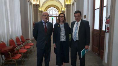 Zárate firmó un convenio con la Oficina Anticorrupción para fortalecer políticas de transparencia