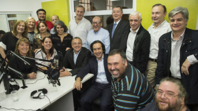 Inauguraron en Radio Provincia el estudio Antonio Carrizo