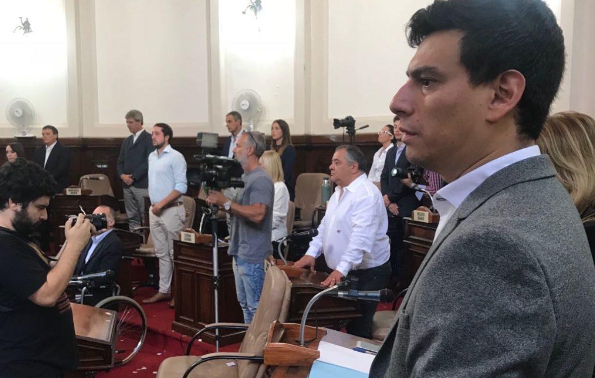 """Tras la apertura de sesiones """"Chucho"""" Gómez criticó el discurso de Garro """"una serie de palabras al vacío"""""""