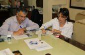 San Andrés de Giles / Puglelli firmó un convenio con el Consejo Escolar y garantizó nuevas obras