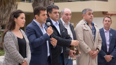 Gribaudo y Macri reconocieron a Ex combatientes de Malvinas en Vicente López