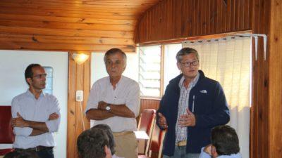 25 de Mayo y Bolívar estudian la posible canalización de la cuenca Hale-Del Valle