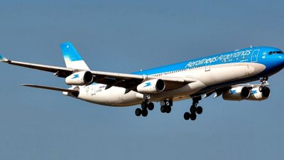 Aerolíneas Argentinas comenzó a ofrecer un vuelo directo de Bahía Blanca a Córdoba