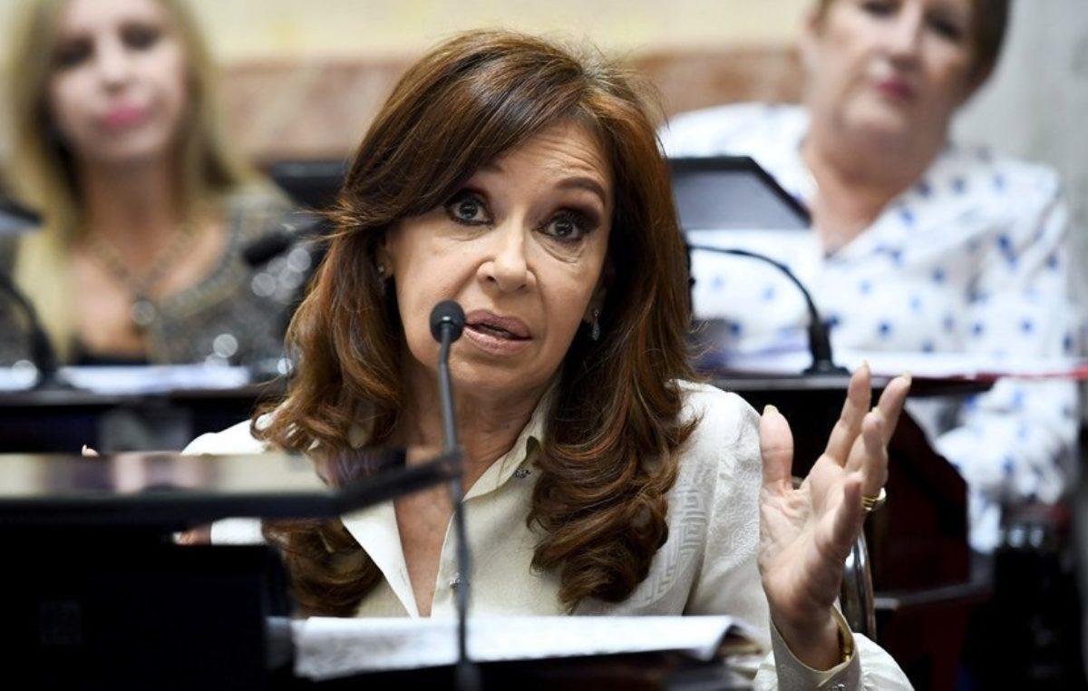 """Cristina Kirchner se pronunció en contra de los tarifazos: """"Le están reventando la vida a la gente"""""""